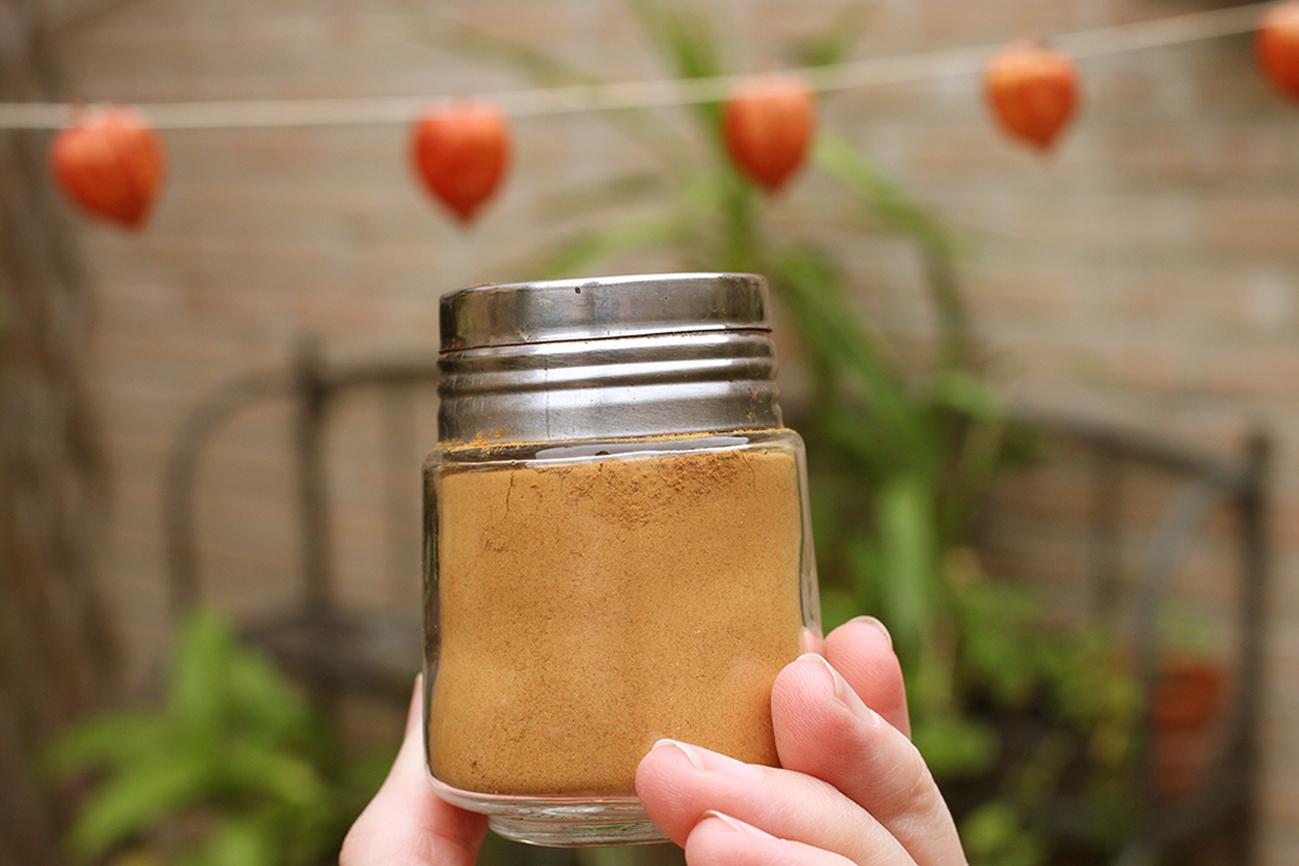 Homemade 'pumpkin spice'
