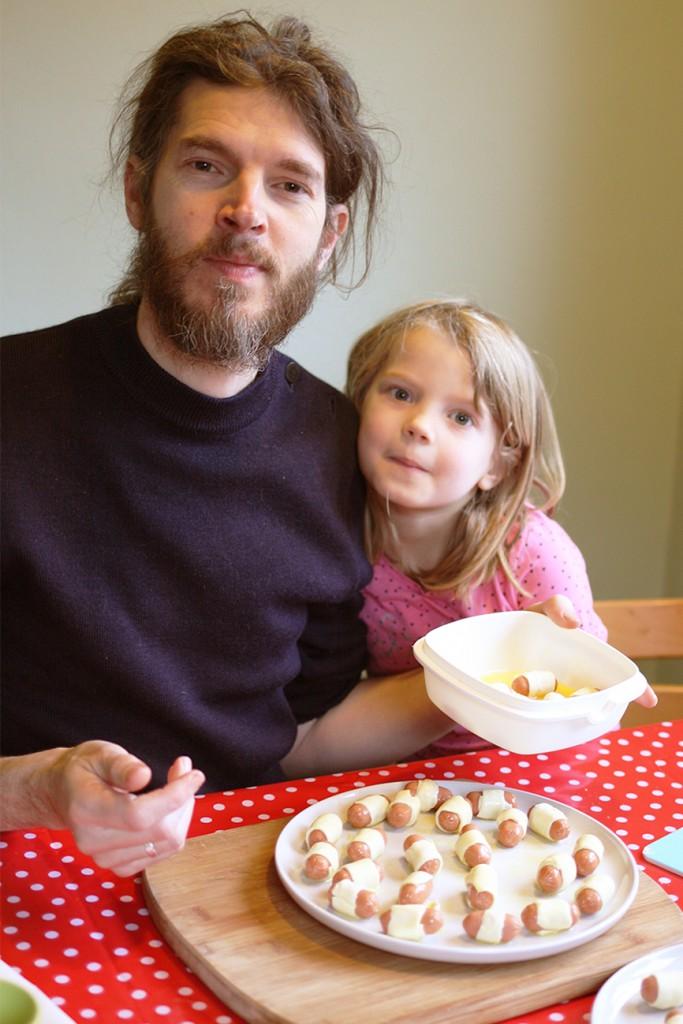 Kookanje - Mini-worstenbroodjes maken