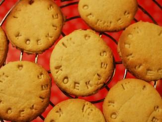 koekjes gebakken