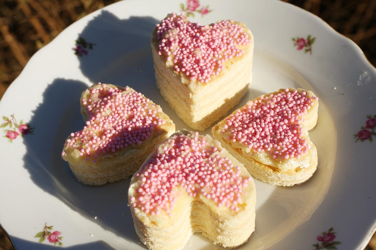 Petit-beurre hartjes